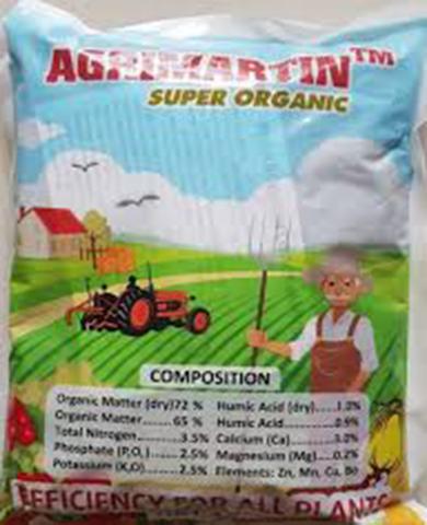 Phân hữu cơ Agrimartin